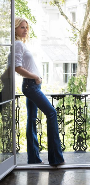 Gwyneth Paltrow's collaboration with @MiH Jeans. Looking gorge as always Gwynnie!