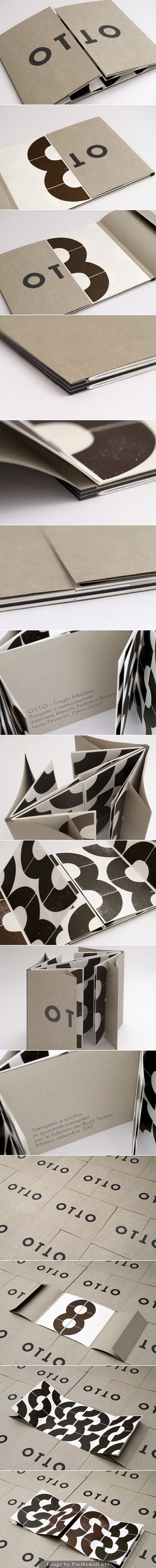 Otto artist book by Normat Milano
