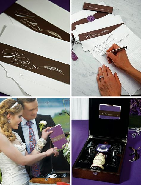 Love Letter Wedding Ceremony - 11 Wedding Unity Ceremony Ideas