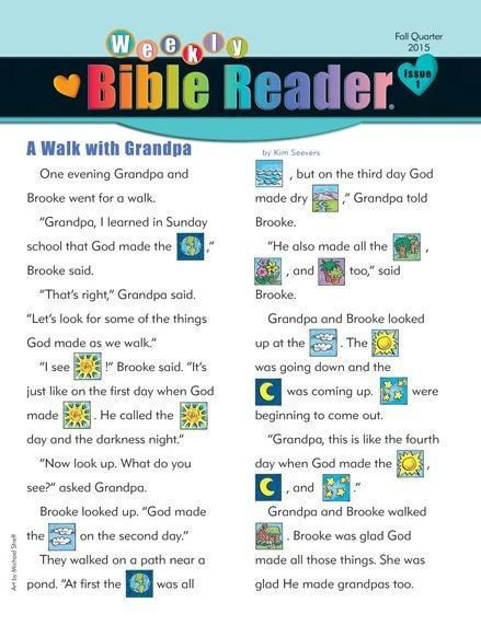 Heartshaper: Weekly Bible Reader, Fall 2015