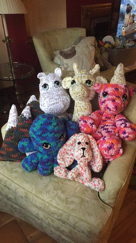 Amigurumi With Bernat Blanket Yarn Crochet Patterns Blanket Yarn