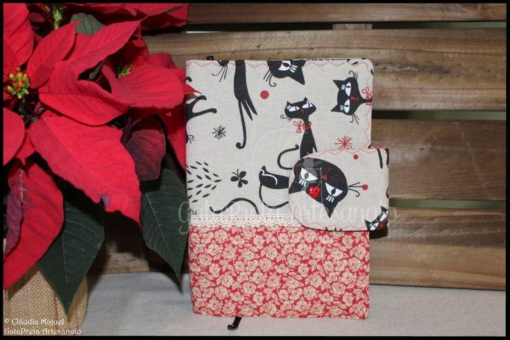"""Capa de livros """"Red Cats""""."""