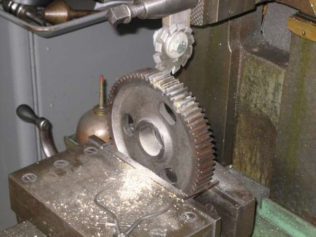 Using A Commercial Gear Cutter To Cut A Gear Tooth With A