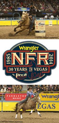 Experience the thrilling action of the 2014 Wrangler National Finals Rodeo live in Las Vegas, courtesy of Vita Flex.