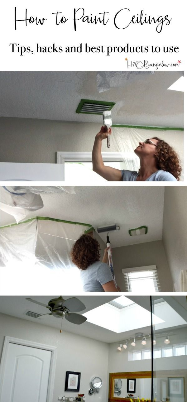 Tutorial And Video On How To Paint Ceilings Quick Read With Good Tips Tricks Hacks Your Home Inside Out