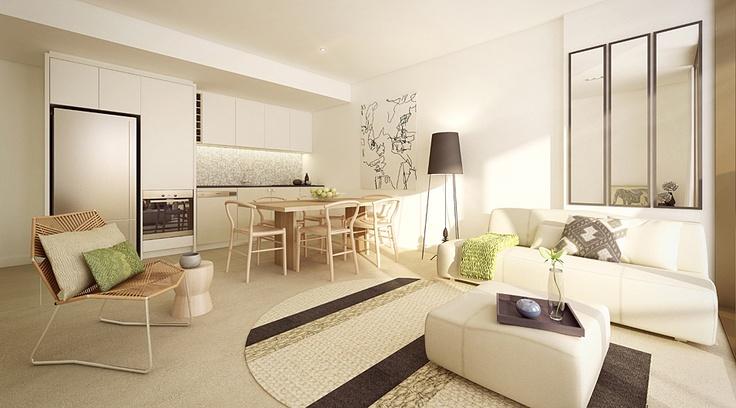Cityside Apartments, Convesso Concavo, Victoria Harbour, Melbourne - Lend Lease