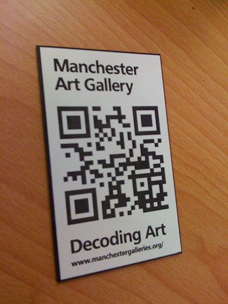 Manchester Art Gallery - this is so clever!