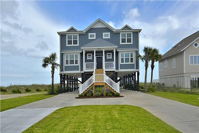 120 best beach houses images on pinterest coastal living for Beach house vacation ideas