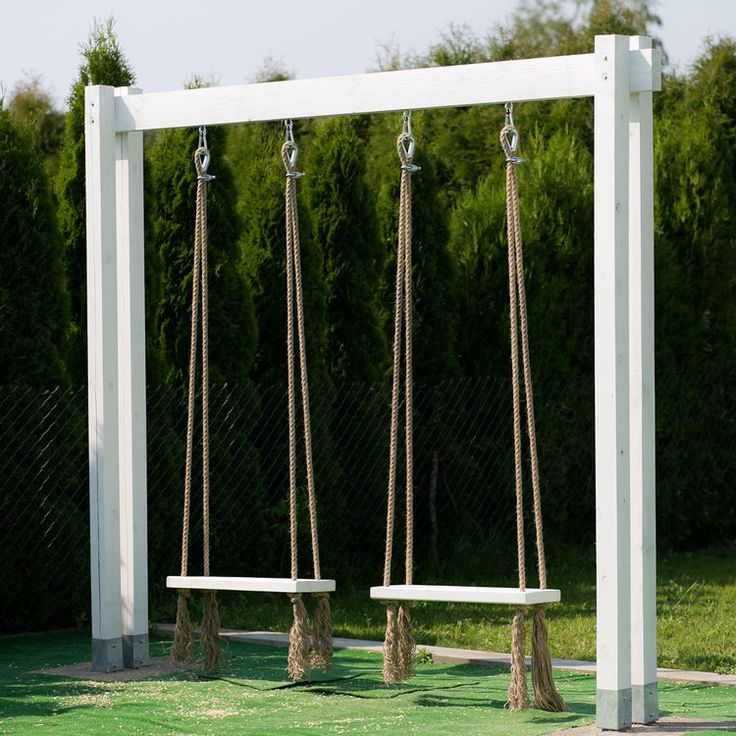 huśtawka ogrodowa (nie tylko dla dziecka) - DIY - — H O U S E L O V E S