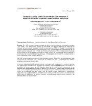 REABILITAÇÃO DE EDIFÍCIOS RECENTES: CONTINUIDADE E REINTERPRETAÇÃO. CONJUNTO HABITACIONAL DA BOUÇA