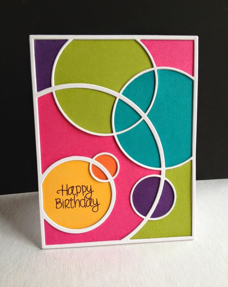 Fun and colorful card by Lisa Adessa using Simon Says Stamp Exclusives.