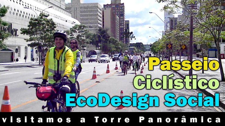 Curitiba Quase de Graça - Passeio Ciclistico - Vídeo 5