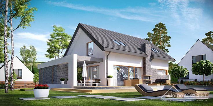 Projekt domu HomeKONCEPT 5 www.homekoncept.pl #projektdomu