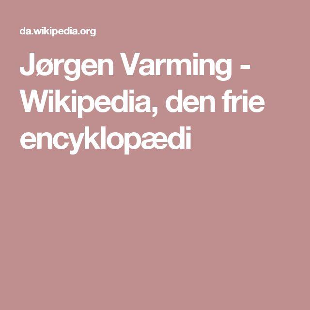 Jørgen Varming - Wikipedia, den frie encyklopædi