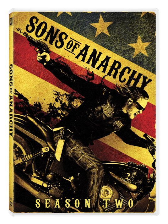 sons of anarchy season 2 dvd | SONS OF ANARCHY SEASON 2 Bluray And DVD Cover Art - SEAT42F.COM