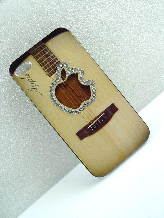 Acoustic Guitar iPhone Case. #music #iphone #iphonecase http://www.pinterest.com/TheHitman14/music-paraphernalia/