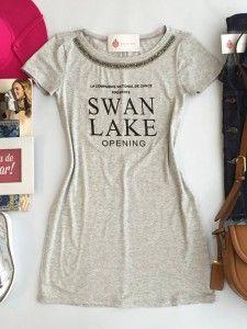 Vestido Swan Mescla - Estação Store