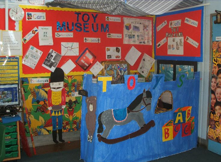Toy museum role-play area classroom display photo - Photo gallery - SparkleBox