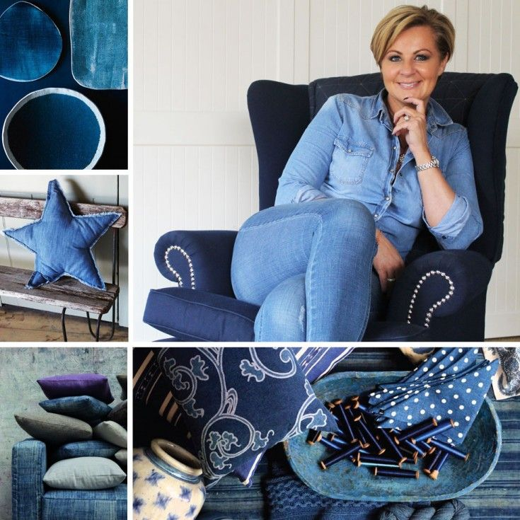 How To Bring Denim Into Your Home
