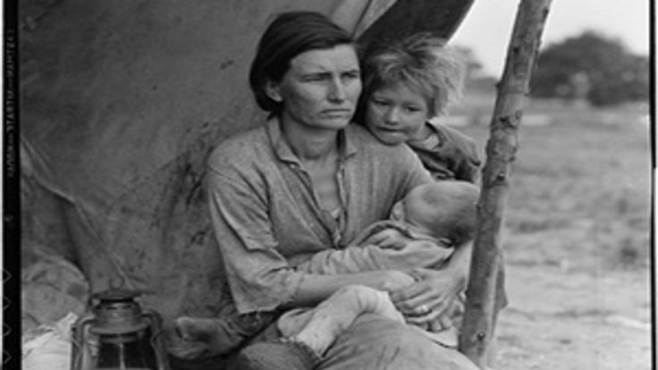 In this media-rich lesson designed to support interdisciplinary learning in English language arts and United States history, students are introduced to documentary photography through Dorothea Lange's photograph Migrant Mother. Through the iconic photograph, students gain a deeper understanding of the conditions facing Americans during the Depression and specifically how documentary photography was used to support the change in social policy advocated by President Roosevelt through his Ne…