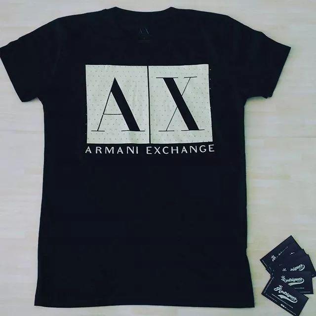 camiseta armani exchange 100%original vários modelos top