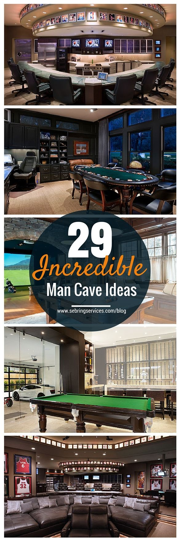A man cave is a personal sanctuary where you can indulge your hobbies and guilty pleasures with freedom. It provides personal space for much needed me-time especially if you have a big family and busy days. The best thing about it is that you have complete control over the aesthetics. So however crazy or unique you want the design to be, you can have it all.