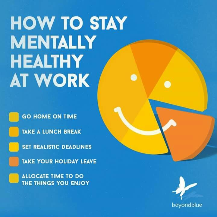Home Office Design Tips To Stay Healthy: How To Stay Mentally Healthy At Work