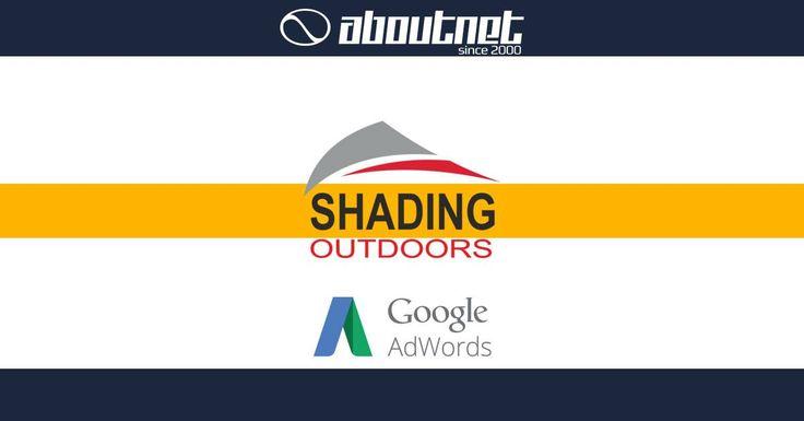 H #aboutnet ανέλαβε την καμπάνια google #adwords στις Αραβικές χώρες για την εταιρία Miba και την ιστοσελίδα shadingoutdoors.