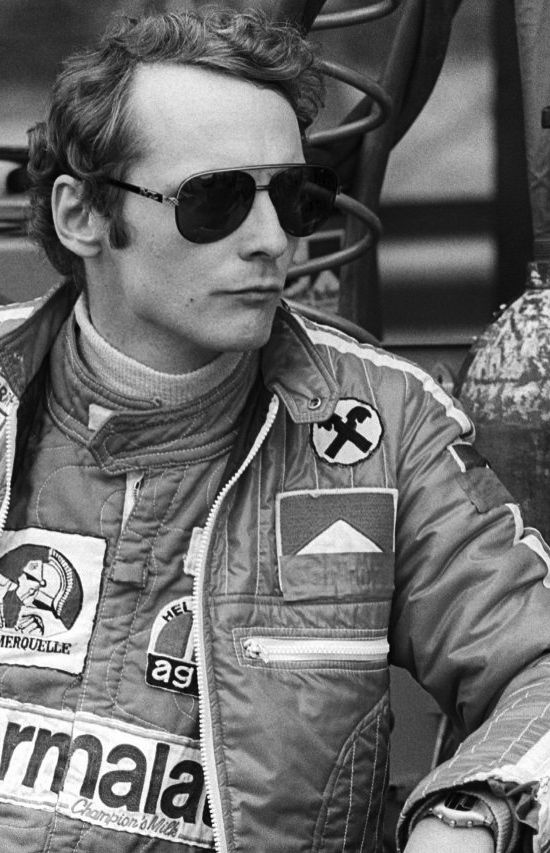 Niki Lauda - 1975, 1977, 1984 World Champion.