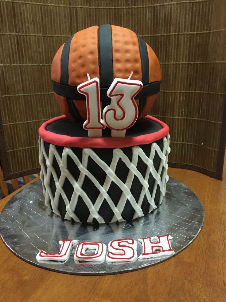 Chocolate Basketball Cake With Fondant For Josh S Family Party How Do Professional Cake Makers