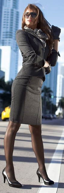 262 Best Women S Office Attire Images On Pinterest Overall Dress Work Clothes And Work Outfits