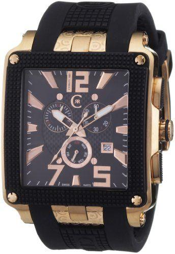 Cerruti 1881 – CRB012D224G – Montre Homme – Quartz – Analogique – Chronomètre – Bracelet silicone Noir