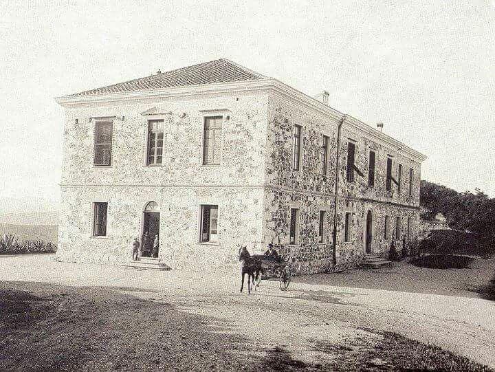 Ex ospedale di Ingurtosu : zona mineraria di Arbus