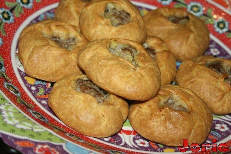 Татарские пироги с говядиной и картофелем