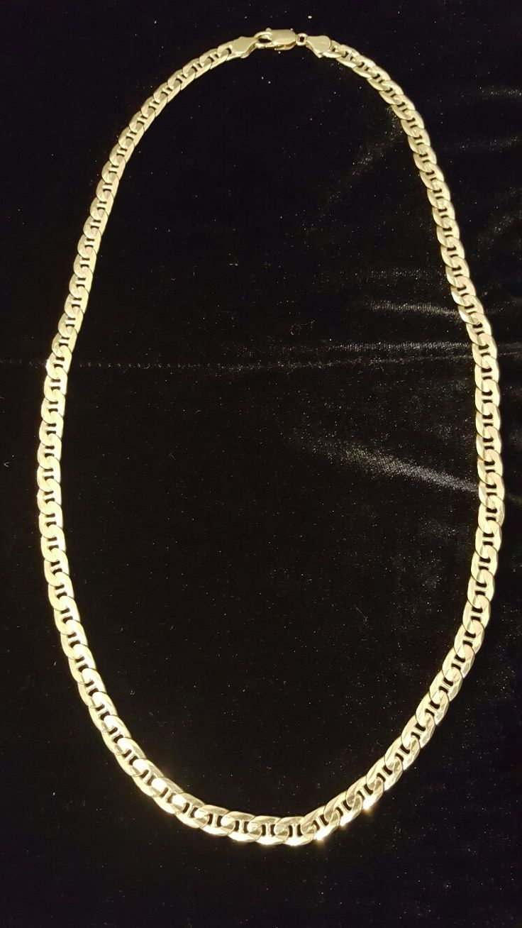 18k yellow gold men's chain. In stock today. For more information, contact us at (905) 385-GOLD.