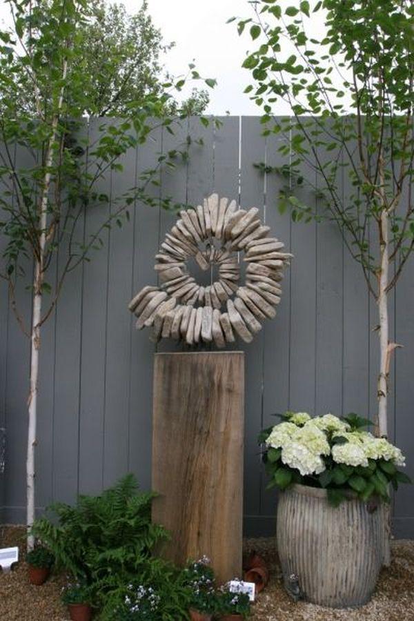 Ziergegenstände für den Garten – aus Steinen. 7 kreative ideen › 25 +