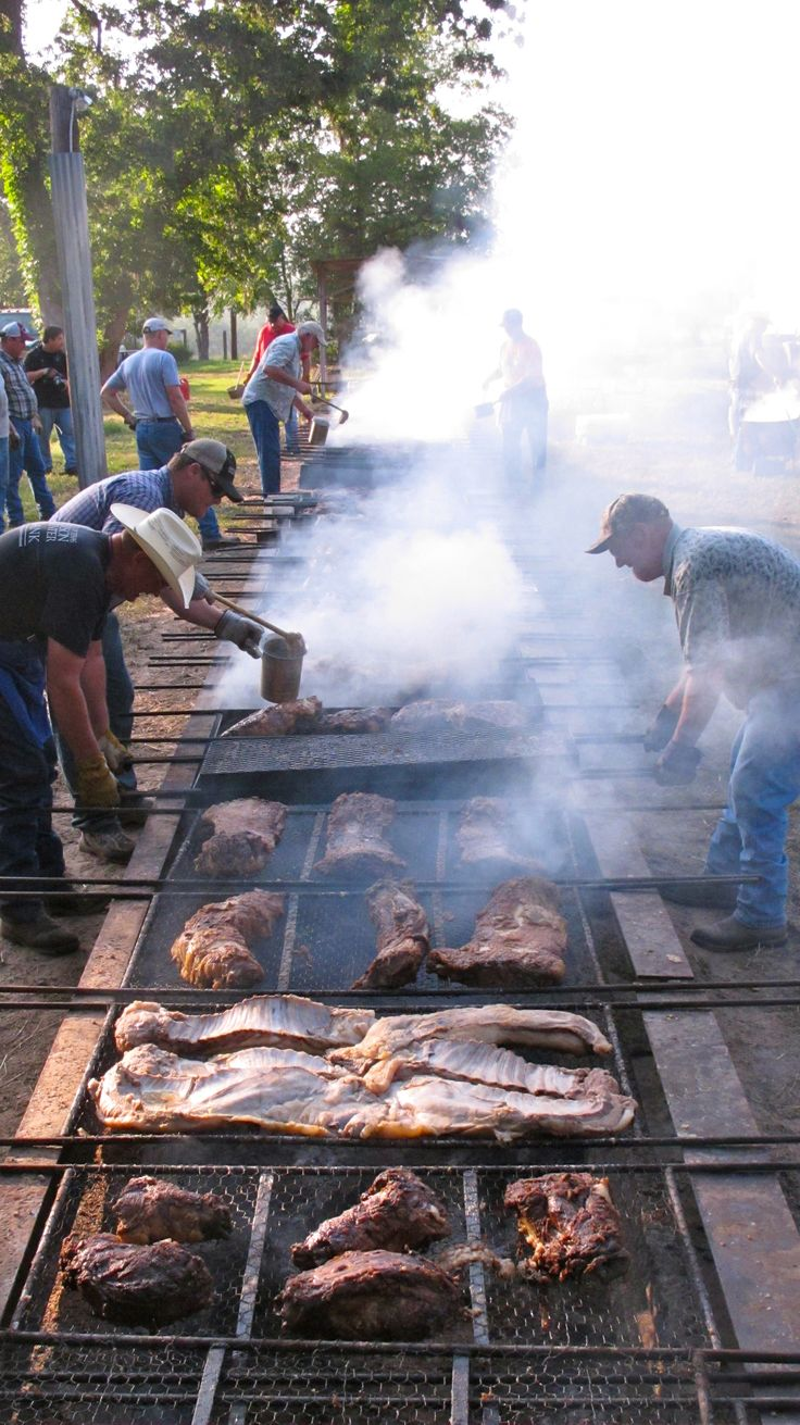 The Annual Millheim Father's Day BBQ has been held at the old German dance hall in Millheim, Texas for over 70 years.