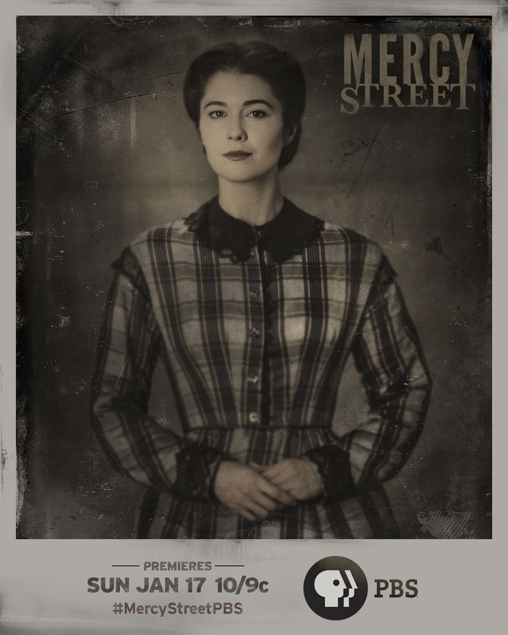 Mary Elizabeth Winstead plays Nurse Mary Phinney in PBS' MERCY STREET. She is a feisty New England abolitionist looking for a new purpose in her life, which leads her to volunteer at Mansion House Hospital.