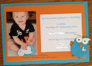 The Inking Pad: Giggle and Hoot birthday party invitations!