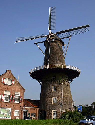 Molen Vlaardingen The Netherlands