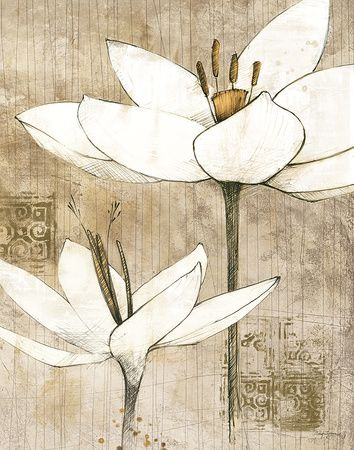 Avery Tillmon - Pencil Floral I Plakát na AllPosters.cz.