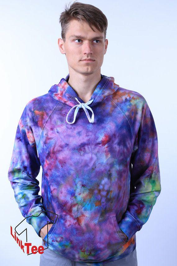 Soft Grunge Pastel Sweatshirt Tie Dye Trippy by LinkTee on Etsy
