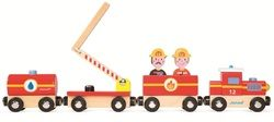 Janod Story Train Firefighters $19.99 - from Well.ca