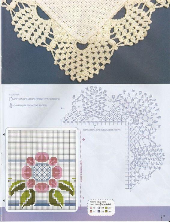 Mejores 383 imágenes de servilletas en Pinterest | Encajes de ...