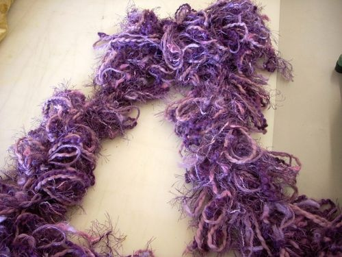 74 best loopy scarfs images on Pinterest | Scarfs, Head scarfs and Craft