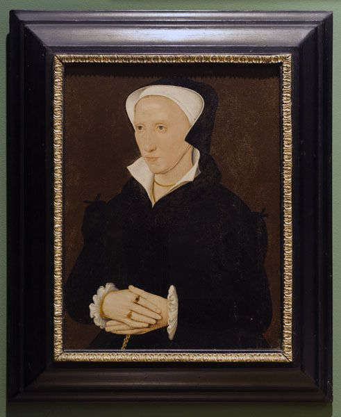 Portrait of a Woman. mid 16th C. Oil on panel.