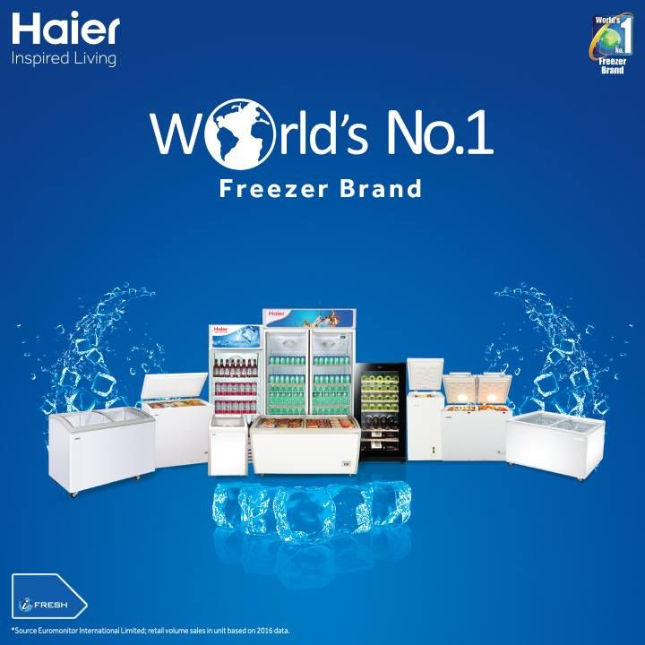 Haier Commercial Refrigerators, Crafted beautifully and environmental friendly. #Haier Commercial range comes well equipped with features to keep your food items at their best.