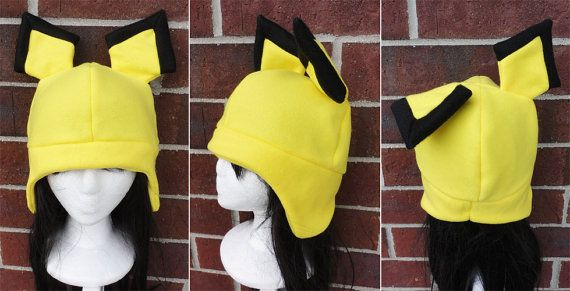 Pichu Pokemon Hat  A winter nerdy geekery gift by Akiseo on Etsy, $16.00