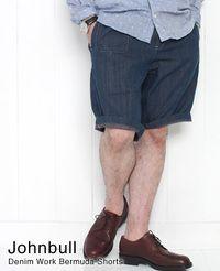 Johnbull [ ジョンブル ] デニム ワーク バミューダパンツ 11725