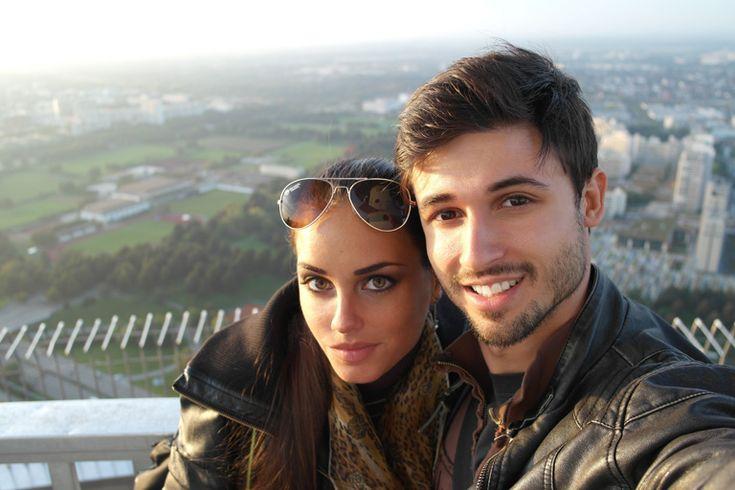 Katalin és férje Dávid